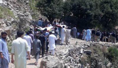 Khyber Pakhtunkhwa Car Firing