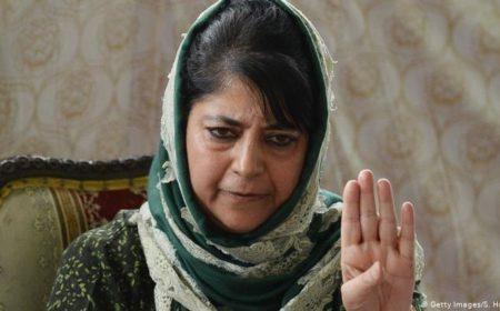 کشمیر: انتخابی مہم کے دوران محبوبہ مفتی حراست میں