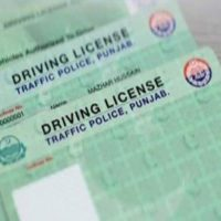 NADRA Driving Licenses