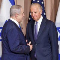 Niamen Netanyahu, Joe Biden