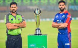 پاکستان سپر لیگ کا اگلا چیمپئن کون؟ کراچی اور لاہور میں ٹائٹل کی جنگ آج ہو گی
