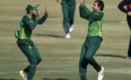 پاکستان نے زمبابوے کو دوسرے ون ڈے میں بھی شکست دے دی