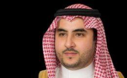 یمن میں فائر بندی خطے میں استحکام کے لیے ہماری کوششوں کی عکاس ہے : شہزادہ خالد