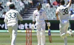 آسٹریلیا کے خلاف ٹیسٹ میچ میں بھارت 36 رنز پر ڈھیر