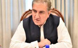 غیر ملکی قوتوں نے اپوزیشن کو ملک میں افراتفری پھیلانے کا ٹاسک دیا: شاہ محمود قریشی