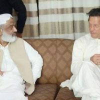 Arbab Ghulam Rahim and Imran Khan
