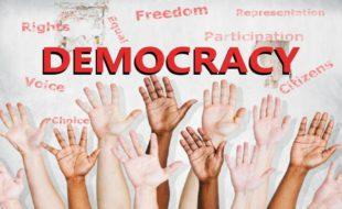 جمہوریت اور جمہوری اقدار کا فروغ