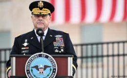 امریکی فوجی قیادت کی طرف سے کیپیٹل ہِل پر ہنگامہ آرائی کی مذمت