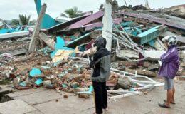 انڈونیشیا میں زلزلہ، درجنوں افراد ہلاک