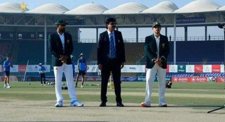 کراچی ٹیسٹ: جنوبی افریقا کا ٹاس جیت کر بیٹنگ کا فیصلہ