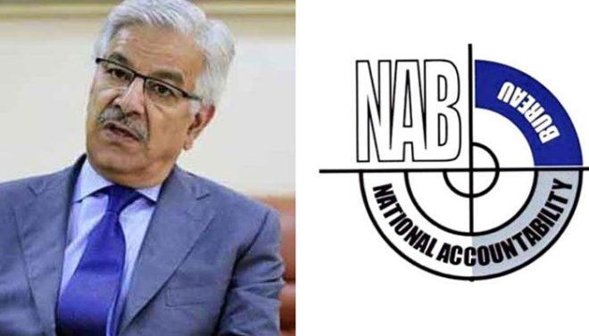 نیب کا خواجہ آصف کے 48 بینک اکاؤنٹس کا سراغ لگانے کا دعویٰ