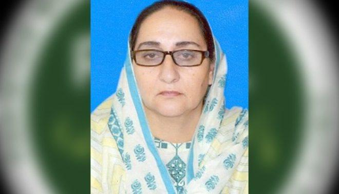 ن لیگ کی رکن پنجاب اسمبلی کورونا سے انتقال کر گئیں
