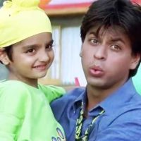 Parzan Dastur and Shah Rukh Khan
