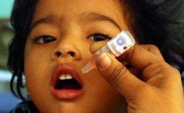 7 روزہ انسداد پولیو مہم، 90 لاکھ بچوں کو حفاظتی خوراک پلائی جائے گی