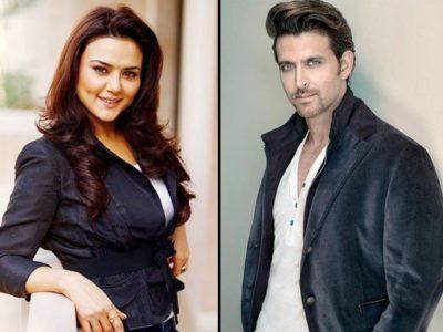 Pretty Zinta and Hrithik Roshan