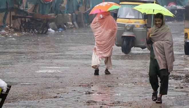 پنجاب، کے پی اور کشمیر میں کل سے سال کی پہلی بارش کی پیشگوئی