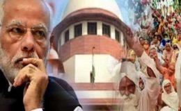 بھارتی سپریم کورٹ نے مودی کے کسان دشمن قانون پر عمل درآمد رکوا دیا