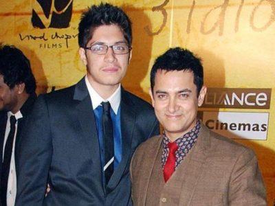 Aamir Khan and Junaid