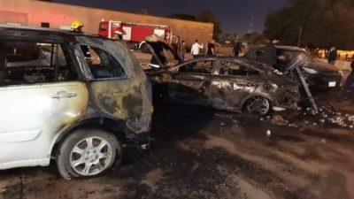 Baghdad Rocket Attack