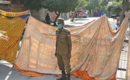 کورونا: گجرات کے دو مقامات پر لاک ڈاؤن نافذ