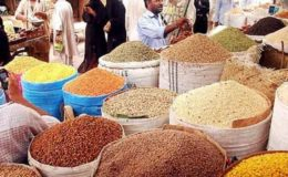 کھانے پینے کی اشیاء کی قیمتوں میں مسلسل پانچویں ہفتے اضافہ