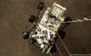 ناسا نے روور لینڈنگ کی اولین ویڈیو اور آڈیو جاری کر دی