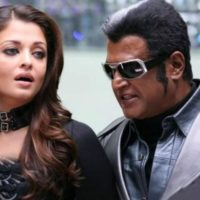 Rajinikanth and Aishwarya