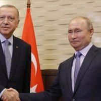 Tayyip Erdogan, Vladimir Putin