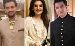 علی ظفر، ریشم اور ہمایوں سعید سمیت فنکاروں کے لیے قومی اعزازات