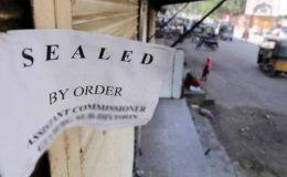 ملتان: ایس او پیز کی خلاف ورزی پر دکانیں اور ریسٹورینٹ سیل