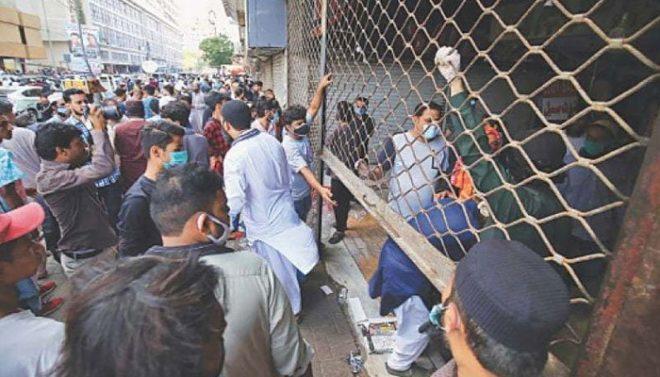 پنجاب: کورونا ایس او پیز کی خلاف ورزی پر 30 ریستوران اور 650 دکانیں سیل