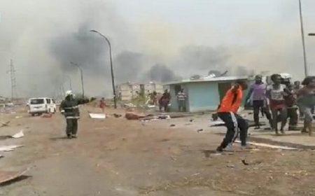 استوائی گنی: دھماکوں میں ہلاکتوں کی تعداد تقریبا 100 ہو گئی