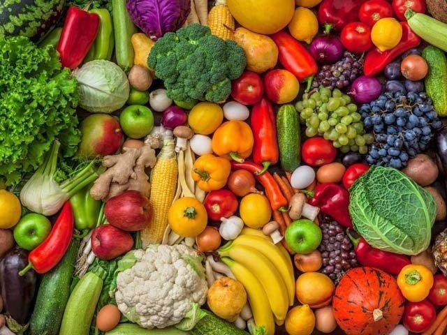 روزانہ دو مرتبہ پھل، تین مرتبہ سبزیاں کھائیے، بیماریاں بھگائیے!