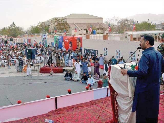 بلوچستان کے عوام کو وسائل دیے جائیں، مصطفی کمال