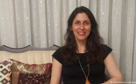 ایرانی نژاد برطانوی کارکن نازنین پانچ برس بعد رِہا