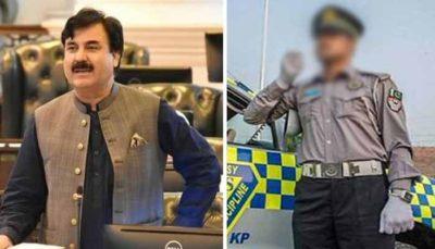 Shaukat Yousafzai, Traffic Warden