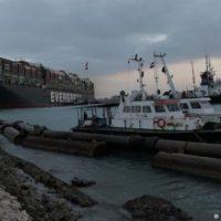 Ship in Canal Suez