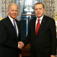 Biden and Recep Tayyip Erdogan