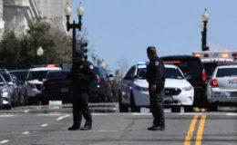 کیپیٹل ہل: گاڑی سے حملے میں ایک پولیس اہلکار اور مشتبہ شخص ہلاک