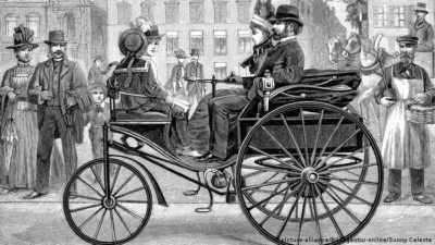 Carl Benz and Bertha Benz