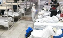 کورونا کی تیسری لہر میں شدت؛ ایک دن میں 103 افراد جاں بحق