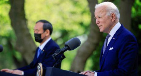 امریکی صدر کی جاپانی وزیر اعظم سے وائٹ ہاؤس میں ملاقات