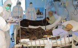 لیڈی ریڈنگ اسپتال پشاور میں کورونا مریضوں کو آکسیجن کی کمی کا سامنا