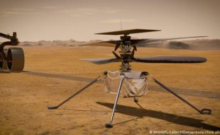 مریخ پر ناسا کے ہیلی کاپٹر کی اولین پرواز