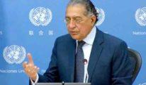 کشمیر کی صورتحال بین الاقوامی امن و سلامتی کیلئے خطرہ ہے: منیر اکرم