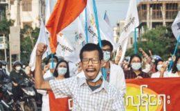جمہوریت پر شبِ خون، فوج کی فائرنگ سے مزید 82 مظاہرین ہلاک