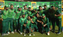 پاکستان نے تیسرے ون ڈے میں جنوبی افریقا کو شکست دیکر سیریز اپنے نام کرلی