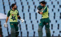 پاکستان نے زمبابوے کو تیسرے ٹی 20 میں شکست دیکر سیریز جیت لی