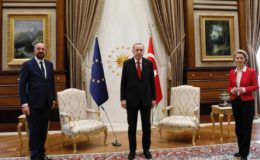 ترک صدر کی یورپی یونین کونسل اور کمیشن کے سربراہان سے ملاقات