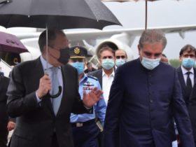 روسی وزیر خارجہ سرگئی لاروف دو روزہ دورے پر پاکستان پہنچ گئے